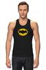"""Майка (Мужская) """"Бэтмен (Batman)"""" - comics, batman, dc, superhero, бетмен"""