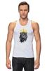 "Майка (Мужская) ""Лев в короне"" - king, корона, лев, lion, царь зверей, crown"