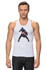 """Майка классическая """"Капитан Америка / Captain America"""" - супергерой, марвел, капитан америка, captain america, kinoart"""