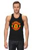 """Майка классическая """"Manchester United"""" - england, uk, манчестер юнайтед, red devils, football club, футбольный клуб"""