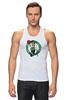 """Майка классическая """"Boston Celtics"""" - nba, нба, бостон селтикс"""