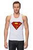 """Майка (Мужская) """"Supergirl"""" - comics, superman, dc"""