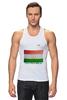 "Майка классическая ""Флаг Таджикистана"" - tajlife, флаг таджикистана, душанбе"