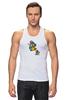 "Майка (Мужская) ""Breaking Bad x Mario"" - во все тяжкие, хайзенберг, гайзенберг, марио"