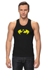 "Майка (Мужская) ""Бэтмен (Batman)"" - batman, бэтмен, superhero"