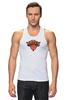 """Майка классическая """"Нью-Йорк Никс"""" - баскетбол, нба, new york knicks, нью-йорк никс"""