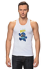 "Майка (Мужская) ""Super Mario (Mega Man)"" - nintendo, марио, mario bros"