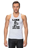 "Майка (Мужская) ""Luke i am your spotter"" - качок, darth vader, звездные войны, дарт вейдер, spotter"