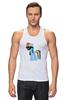 """Майка (Мужская) """"My Little Pony - Rainbow Dash (Радуга)"""" - радуга, pony, rainbow dash, mlp, пони"""