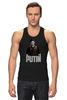 "Майка (Мужская) ""Putin"" - россия, russia, путин, президент, putin"