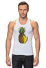 """Майка (Мужская) """"ананас"""" - ананас, фрукт, pineapple"""