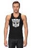 """Майка (Мужская) """"Transformers Autoboats team"""" - роботы, transformers, трансформеры, автоботы, мульфильм"""
