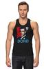 "Майка (Мужская) ""James Bond"" - james bond, агент 007, шон коннери, джеймс бонд, sean connery"