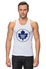 "Майка (Мужская) ""Торонто Мэйпл Лифс "" - хоккей, nhl, нхл, toronto maple leafs, торонто мэйпл лифс"