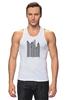 "Майка (Мужская) ""Сити-код"" - арт, город, дизайн, city, код, barcode, урбанизм"