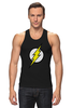 """Майка классическая """"The Flash (Молния)"""" - comics, flash, dc, флэш"""