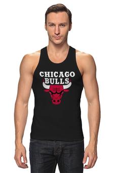 "Майка классическая ""Чикаго Буллз"" - чикаго буллз, chicago bulls, баскетбол, спорт"