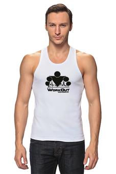 """Майка (Мужская) """"Street Workout"""" - street, strong, workout, воркаут, уличный фитнес"""