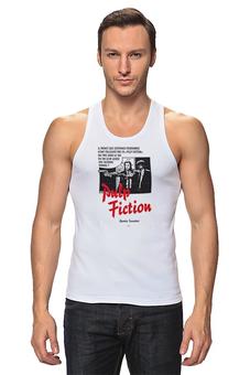 """Майка классическая """"Pulp Fiction"""" - винтаж, tarantino, тарантино, криминальное чтиво, pulp fiction"""