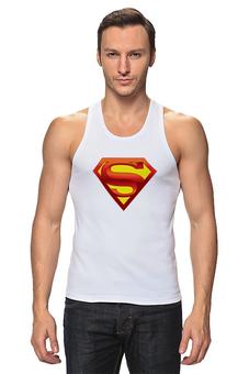 """Майка классическая """"супермен"""" - супермен"""