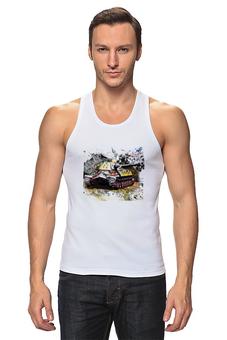"Майка классическая ""World of Tanks"" - world of tanks, танки, игры компьютерные, игра онлайн, гусеницы танка"