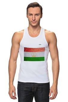 "Майка классическая ""Флаг Таджикистана"" - арт, флаг, tajlife, таджикистана"