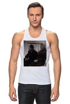 """Майка классическая """"Ретро."""" - ретро, фотография, мужчина и женщина, прошлое, черно-белая фотография"""