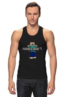 """Майка классическая """"Minecraft """" - minecraft, майнкрафт"""