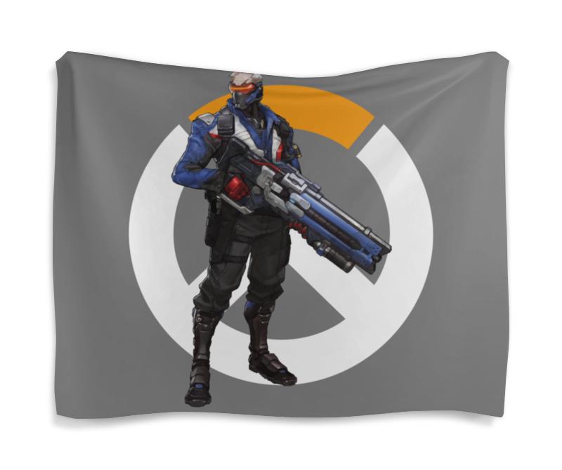 Гобелен 180х145 Printio Overwatch soldier 76 / овервотч солдат 76