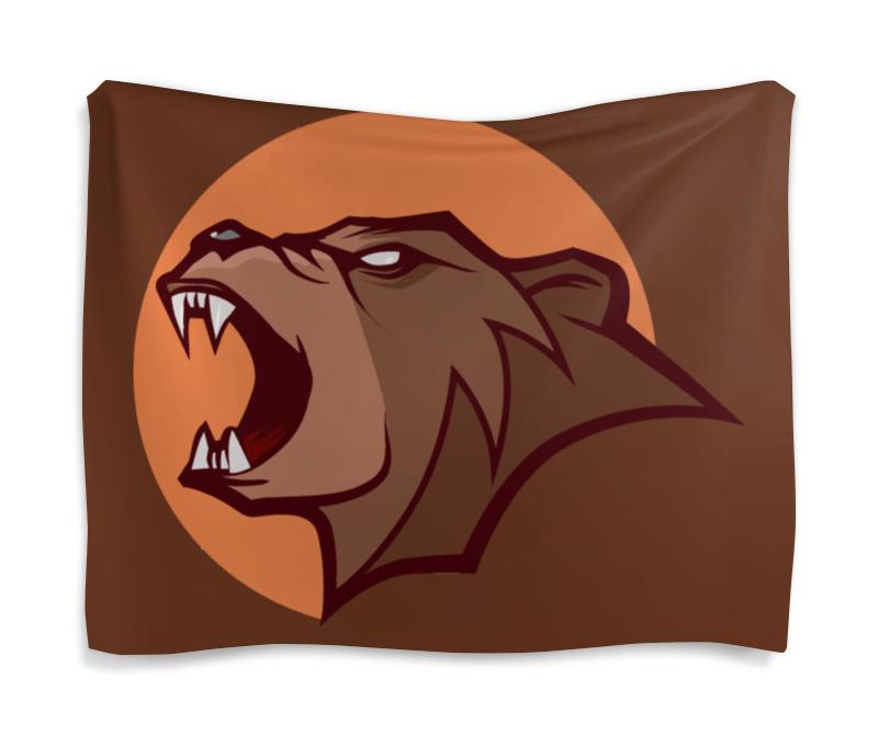 Гобелен 180х145 Printio Bear / медведь тетрадь на скрепке printio ванпанчмен
