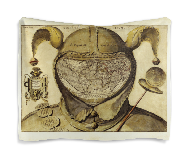 Гобелен 180х145 Printio Карта мира
