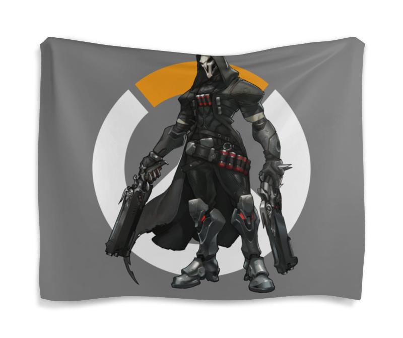 Гобелен 180х145 Printio Overwatch reaper / жнец овервотч