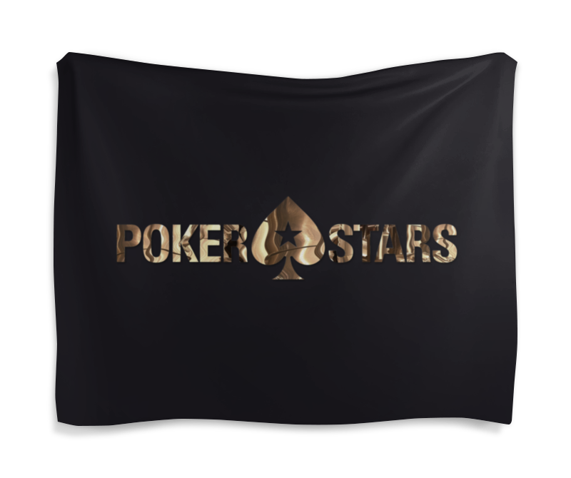 Гобелен 180х145 Printio Pokerstars аминокислоты un 2700