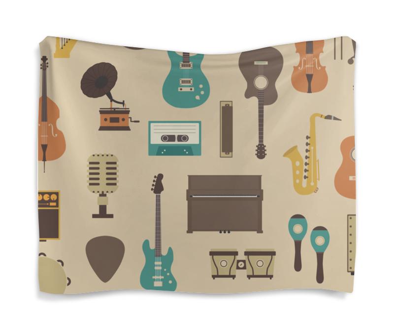 Фото - Гобелен 180х145 Printio Музыкальные инструменты музыкальные инструменты