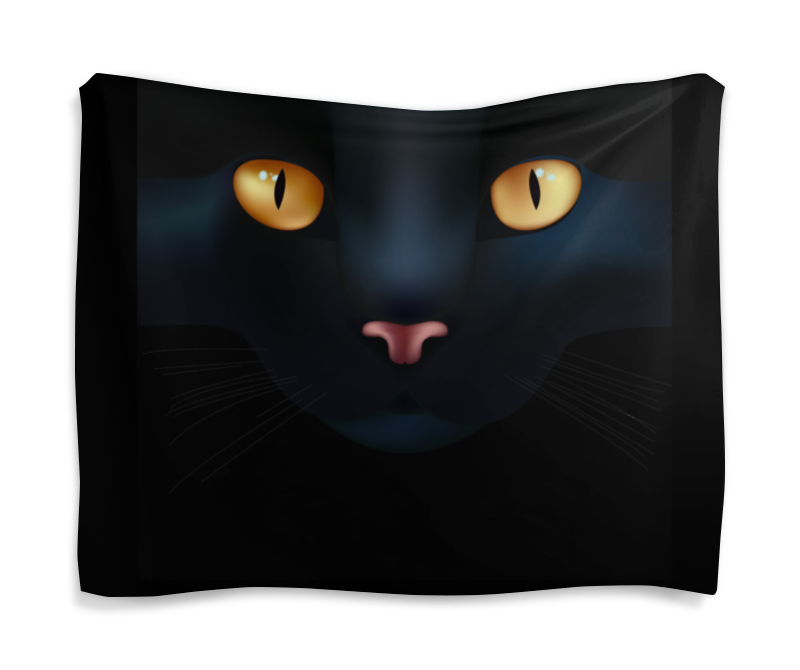 Printio Чёрная кошка