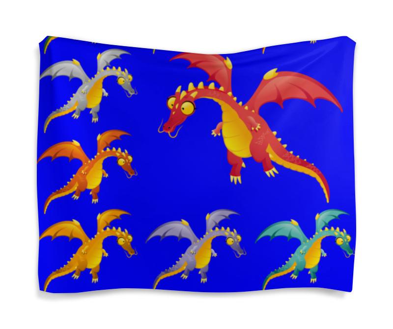 Гобелен 180х145 Printio Динозавры сок мята
