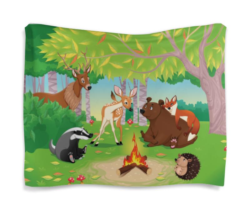 Гобелен 180х145 Printio Забавные животные валентин постников карандаш и самоделкин на острове сокровищ