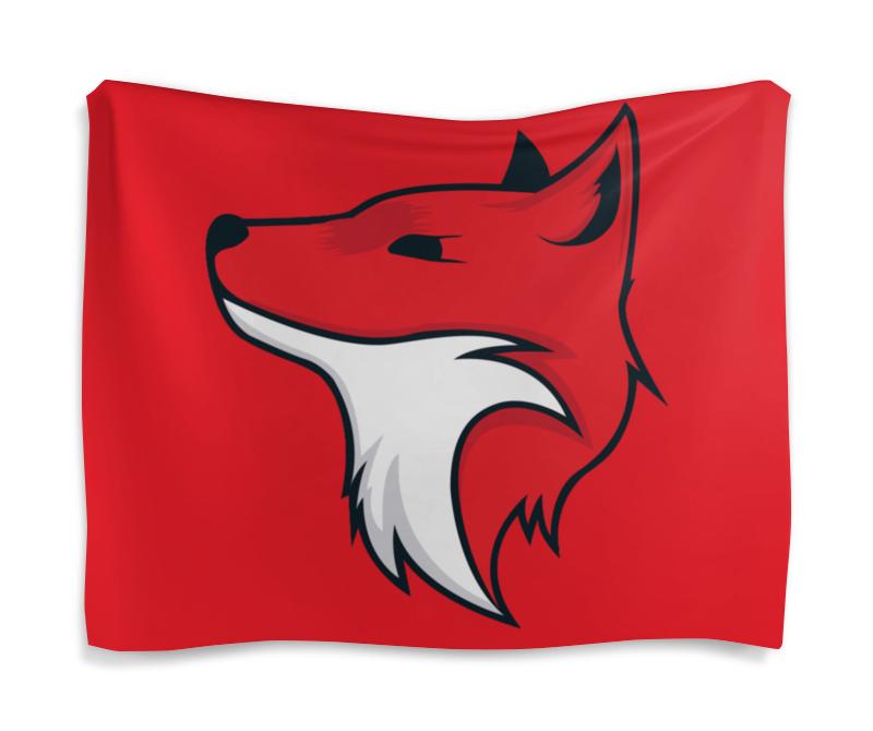 Printio Fox / лиса гобелен 180х145 printio fox лиса