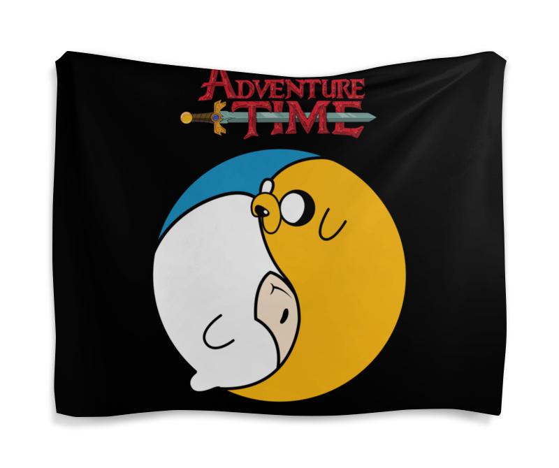 Гобелен 180х145 Printio Adventure time / время приключений цена