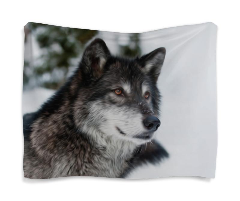 Гобелен 180х145 Printio Серый волк сувенир волк