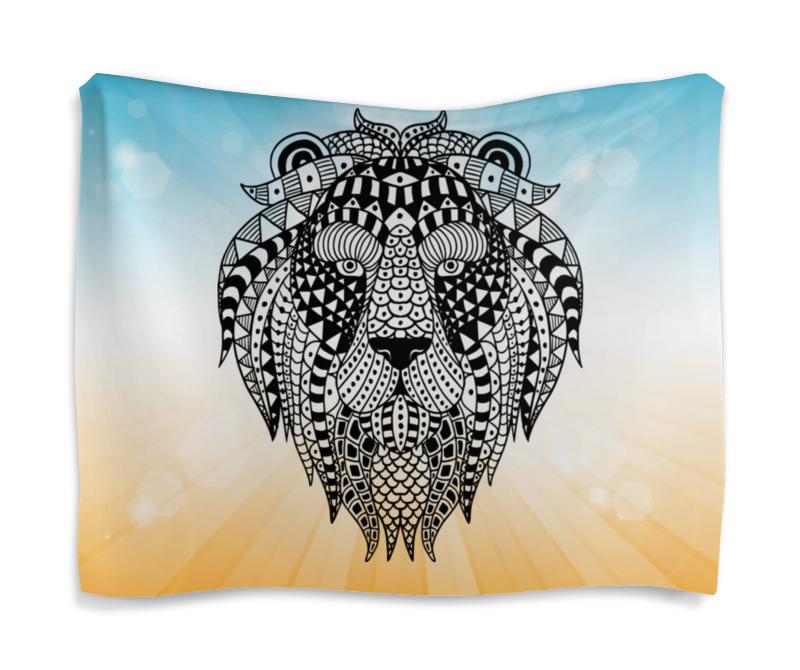 Гобелен 180х145 Printio Этнический лев лукашинские варенье персиковое 450 г
