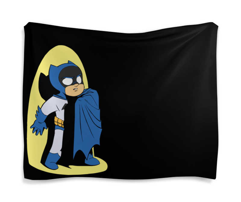 Гобелен 180х145 Printio Batman / бэтмен скатерть квадратная printio batman бэтмен