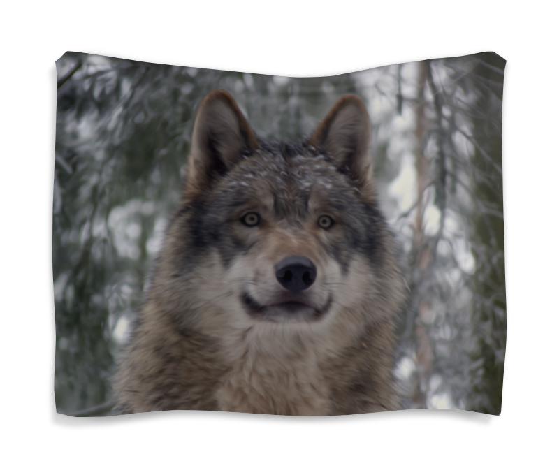 Гобелен 180х145 Printio Волк в лесу колычев в голодный волк или герои городского дна