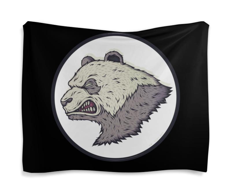 купить Гобелен 180х145 Printio Angry panda / злая панда по цене 2700 рублей