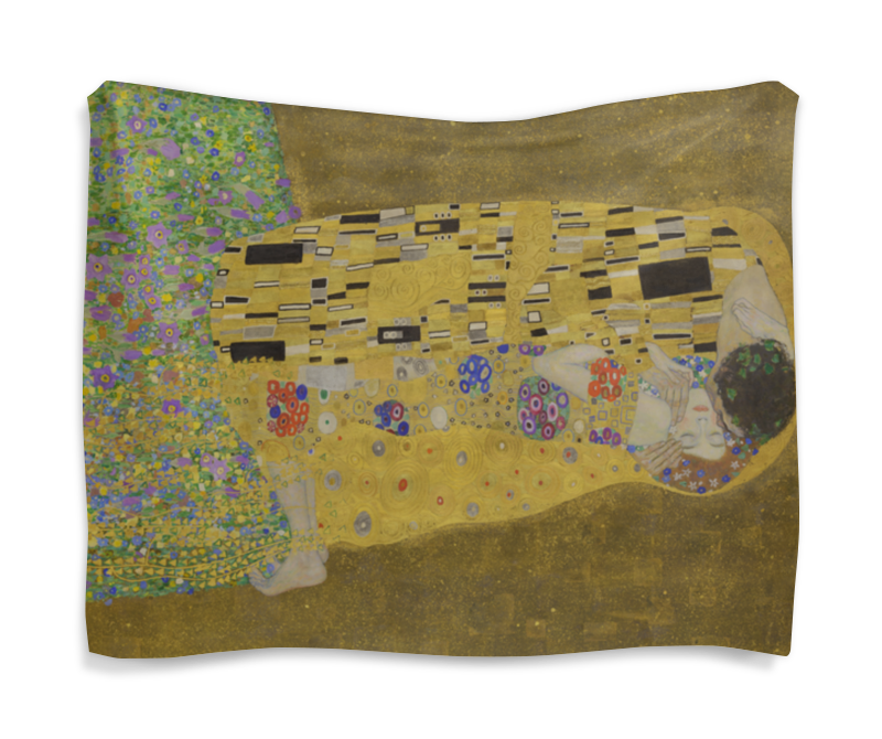 Гобелен 180х145 Printio Поцелуй (картина климта) картины постеры гобелены панно ганг картина гобелен innes цвет мультиколор 80х100 см