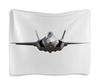 "Гобелен 180х145 ""F-35 aircraft reach lowest price point."" - самолет, сша, авиация"