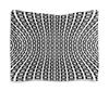 "Гобелен 180х145 ""Abstract Design"" - абстракция, геометрия, квадраты, иллюзия, геометрические фигуры"