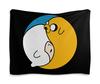 """Гобелен 180х145 """"Adventure Time / Время Приключений"""" - мультфильм, adventure time, время приключений, джейк, финн"""