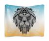 """Гобелен 180х145 """"Этнический лев"""" - животные, лев, рисунок, этно, этнический"""