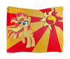"Гобелен 180х145 ""Sunset Shimmer Color Line"" - sun, cutiemark, sunset shimmer"